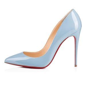 Christian Louboutin Shoes - Christian Louboutin Pigalle Follies — Sky